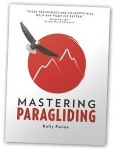 Livre MASTERING PARAGLIDING