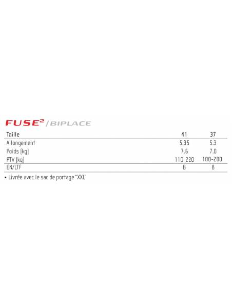 Biplace GIN FUSE 2