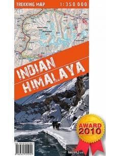 INDIAN Himalaya Trekking Map