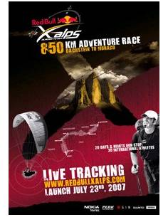 "DVD ""Red Bull X-Alps 2007"""