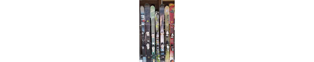 Pack Skis + Fix d'occasion
