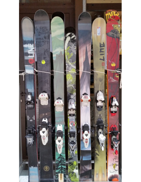 Packs skis alpin + fixations